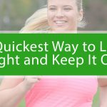 Woman running to lose weight.